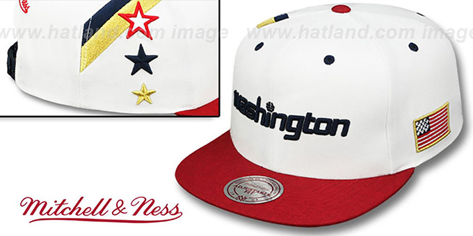 Wizards 'INDEPENDENCE SNAPBACK' Hat by Mitchell and Ness