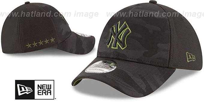 Yankees 2018 MEMORIAL DAY 'STARS N STRIPES FLEX' Hat by New Era