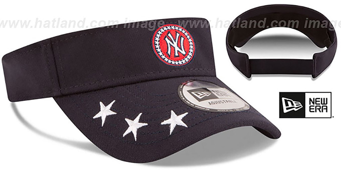 Yankees '2018 MLB ALL-STAR WORKOUT VISOR' by New Era