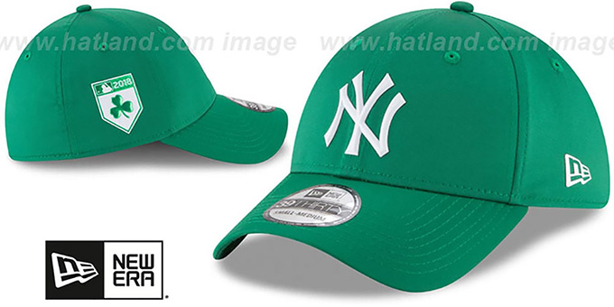 Yankees '2018 ST PATRICKS DAY FLEX' Hat by New Era