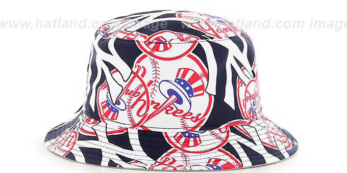 Yankees 'BRAVADO BUCKET' Hat by Twins 47 Brand