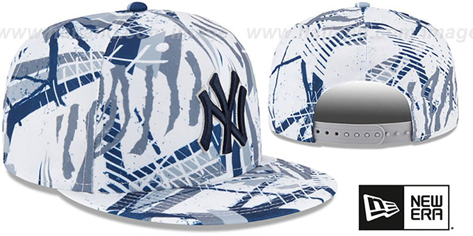 Yankees 'GEOMET TRICK SNAPBACK' Hat by New Era