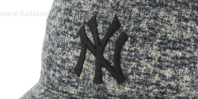 Yankees 'LEDGEBROOK BUCKET' Black Hat by Twins 47 Brand