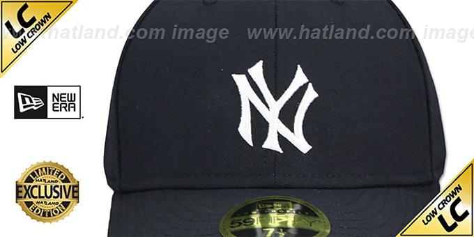 8a5aa3bb0b395 ... Yankees  LOW-CROWN 1910 COOPERSTOWN  Fitted Hat by New Era ...