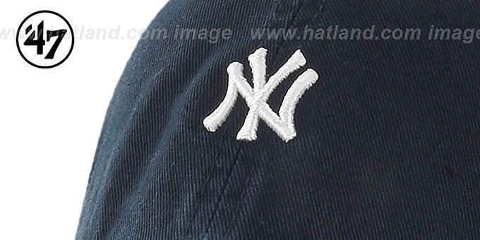 Yankees 'POLO STRAPBACK' Navy Hat by Twins 47 Brand