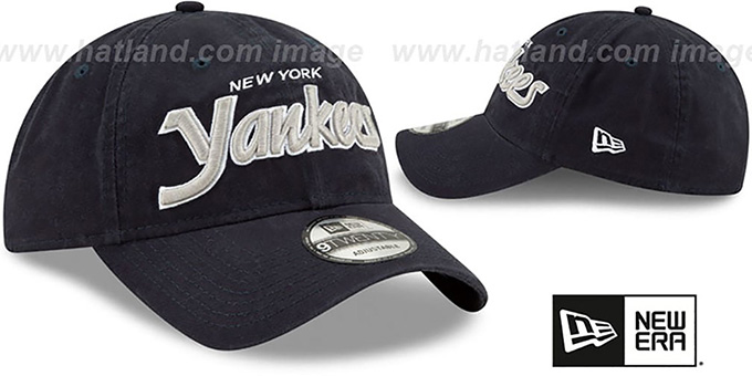 Yankees 'RETRO-SCRIPT SNAPBACK' Navy Hat by New Era