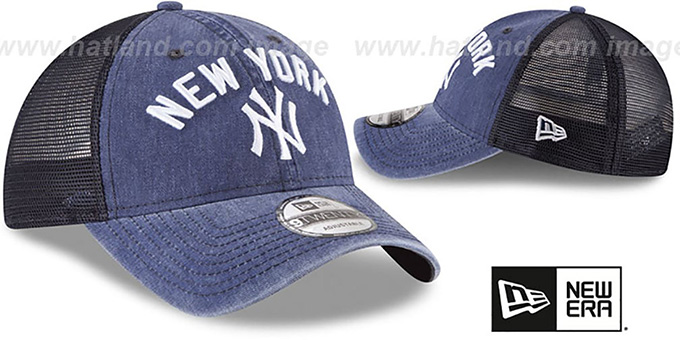 Yankees 'RUGGED-TEAM TRUCKER SNAPBACK' Navy Hat by New Era