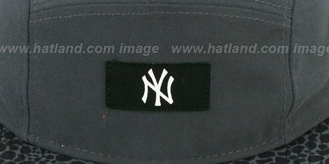 Yankees 'SAFARI CAMPER STRAPBACK' Grey Hat by New Era