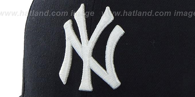 ... Yankees  SURE-SHOT SNAPBACK  Navy Hat by Twins 47 Brand ... 047c728ee36