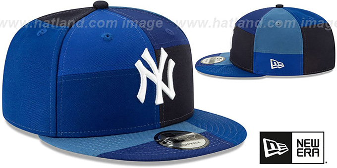 Yankees 'TEAM PATCHWORK SNAPBACK' Hat by New Era