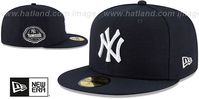 Yankees 'TEAM-SUPERB' Navy Fitted Hat by New Era