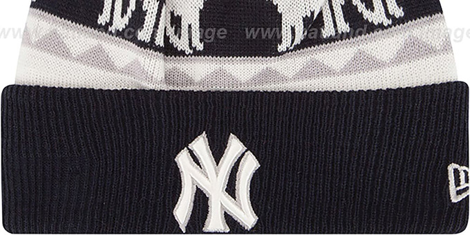 Yankees 'THE-MOOSER' Knit Beanie Hat by New Era