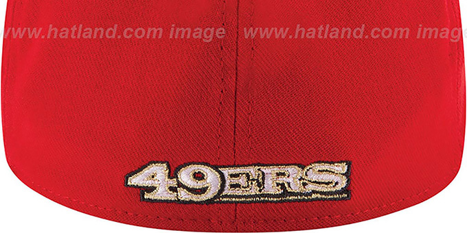 49ers '2014 NFL DRAFT FLEX' Red Hat by New Era