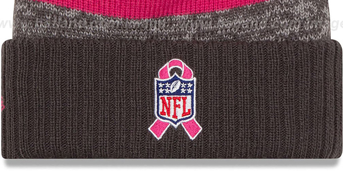 49ers '2016 BCA STADIUM' Knit Beanie Hat by New Era