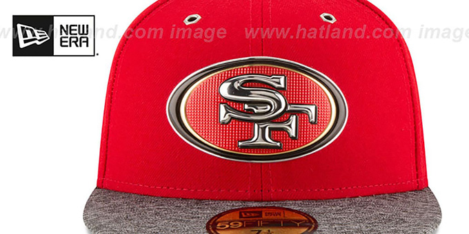 San Diego 49ers 2016 NFL DRAFT Fitted Hat by New Era 883203c9c
