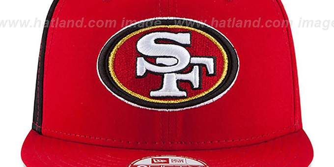49ers 'PANEL PRIDE SNAPBACK' Hat by New Era