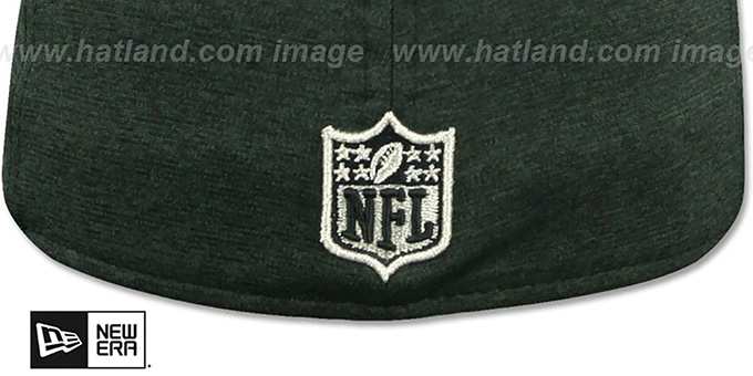 49ers 'SILVER METAL-BADGE' ST Black-ST Grey Fitted Hat by New Era