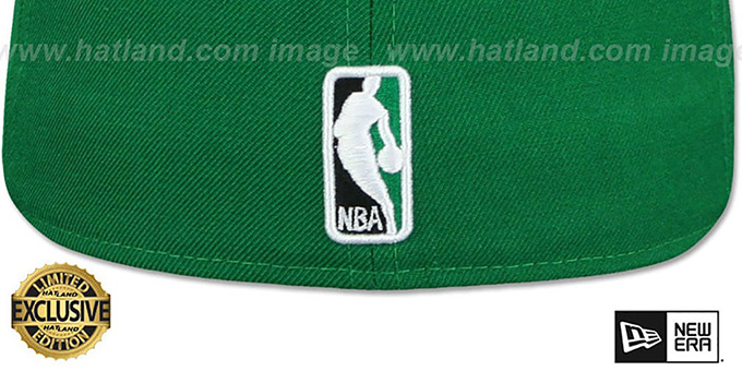 76ers '2T OPPOSITE-TEAM' Green-Black Fitted Hat by New Era