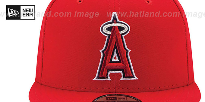 more photos 6939a 642e6 Los Angeles Angels AC-ONFIELD GAME Hat by New Era