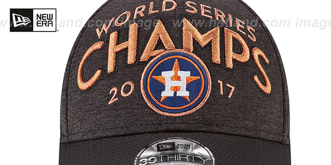 Astros '2017 WORLD SERIES' CHAMPS Flex Hat by New Era