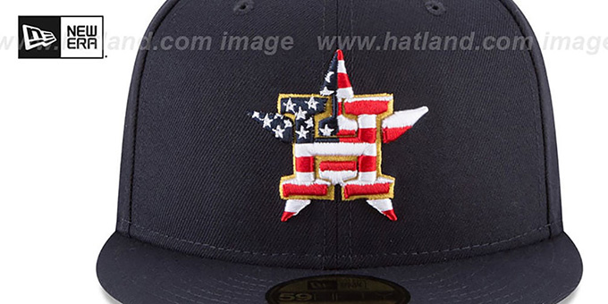 pretty nice f9d3c 2b539 ... italy astros 2018 july 4th stars n stripes navy fitted hat by new era  5a17d 68ab7