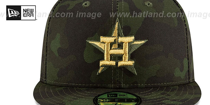 Astros 2019 ARMED FORCES 'STARS N STRIPES' Hat by New Era