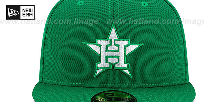 Astros 2020 'ST PATRICKS DAY' Fitted Hat by New Era