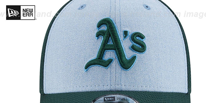 Athletics '2018 FATHERS DAY FLEX' Sky-Green Hat by New Era