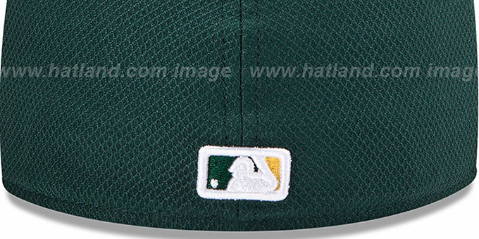 Athletics 'MLB DIAMOND ERA' 59FIFTY Green-Gold BP Hat by New Era
