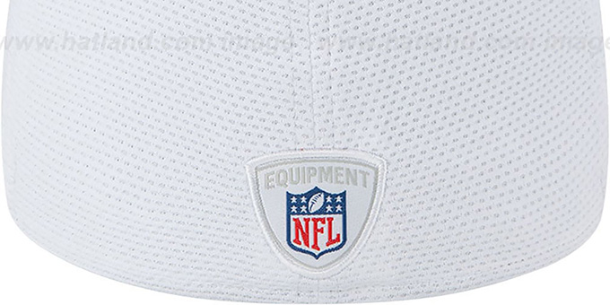 Bears '2013 NFL TRAINING FLEX' White Hat by New Era