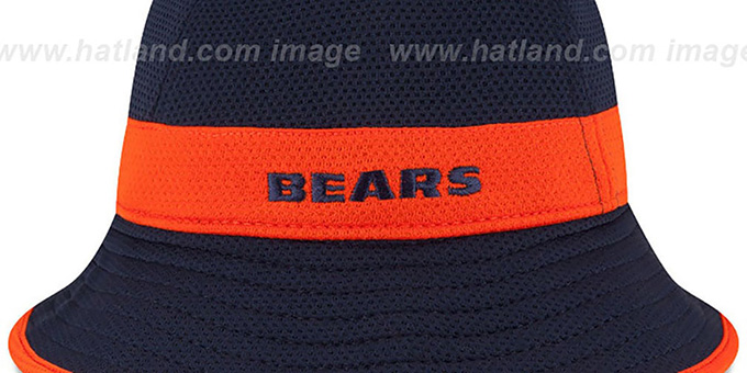 Bears '2015 NFL TRAINING BUCKET' Navy Hat by New Era