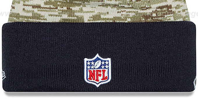Bears '2015 SALUTE-TO-SERVICE' Knit Beanie Hat by New Era
