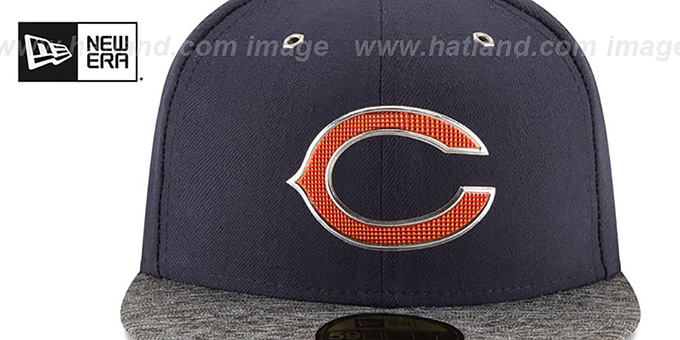 Bears '2016 NFL DRAFT' Fitted Hat by New Era