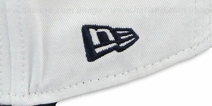 Bears 'BIGSIDE A-FRAME SNAPBACK' White-Navy Hat by New Era
