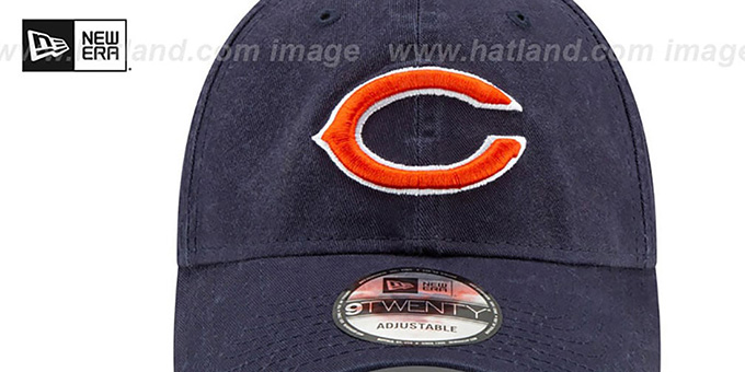 Bears 'CORE-CLASSIC STRAPBACK' Navy Hat by New Era