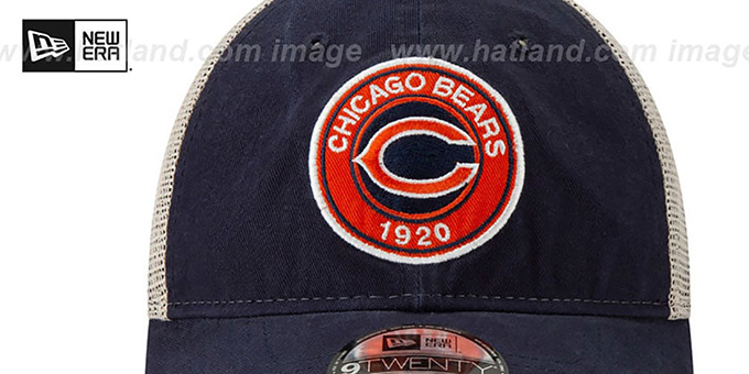 Bears 'ESTABLISHED CIRCLE TRUCKER SNAPBACK' Hat by New Era