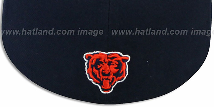 Bears 'ILLUSION' Navy Fitted Hat by New Era