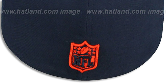 Bears NFL 'MIGHTY-XL' Navy Fitted Hat by New Era