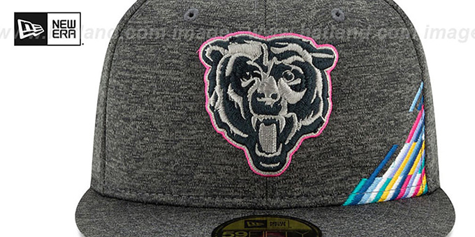 Bears 'ONFIELD CRUCIAL CATCH' Grey Fitted Hat by New Era