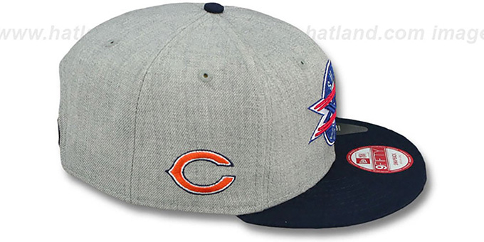 Bears 'SUPER BOWL XX SNAPBACK' Grey-Navy Hat by New Era