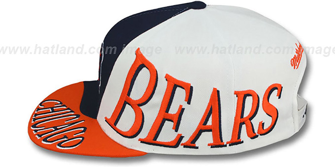 Bears 'THE SKEW SNAPBACK' Hat by Mitchell & Ness