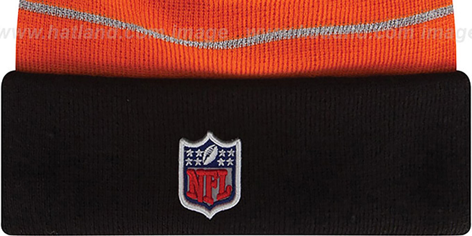 Bengals 'THANKSGIVING DAY' Knit Beanie Hat by New Era