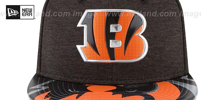 Cincinnati Bengals 2017 NFL ONSTAGE SNAPBACK Hat by New Era 4f0b921a8