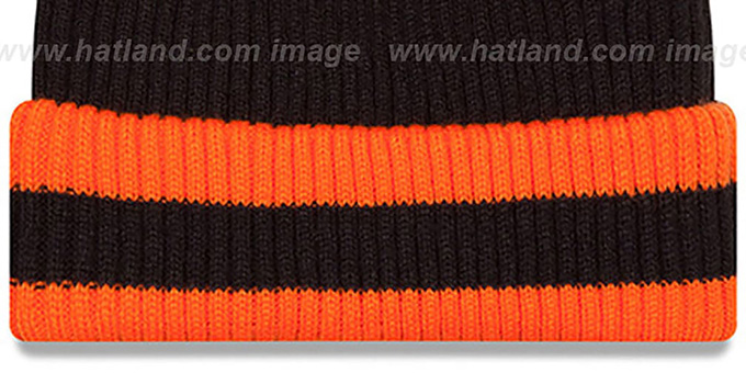Bengals 'CHILLER FILLER BEANIE' Black-Orange by New Era