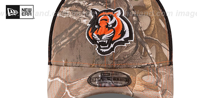 Bengals 'REALTREE NEO MESH-BACK' Flex Hat by New Era
