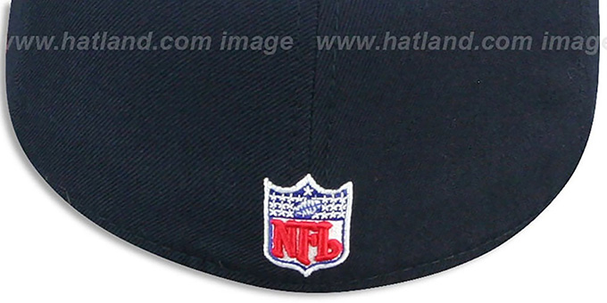 Bills 'COACHES-2' Navy Fitted Hat by Reebok