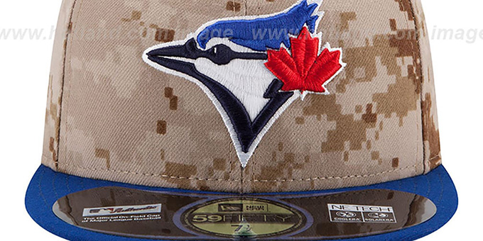 Blue Jays '2014 STARS N STRIPES' Fitted Hat by New Era