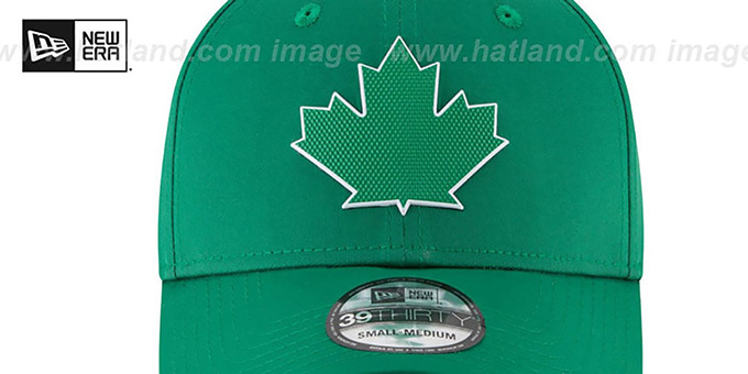 Blue Jays '2018 ST PATRICKS DAY FLEX' Hat by New Era