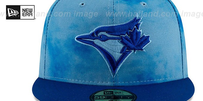 Blue Jays '2019 FATHERS DAY' Fitted Hat by New Era