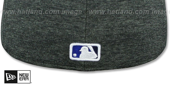 Blue Jays 'HEATHER-HUGE' Grey-Black Fitted Hat by New Era